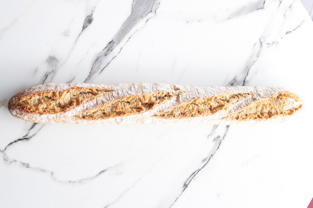 image of a white baguette