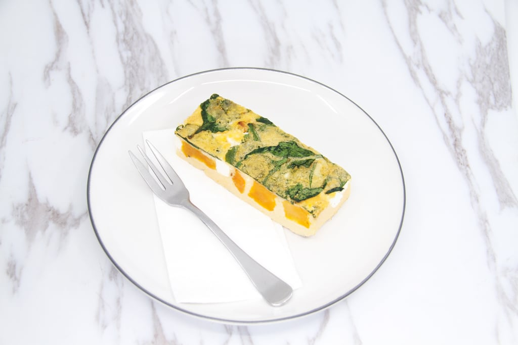 image of pumpkin feta and sage frittata