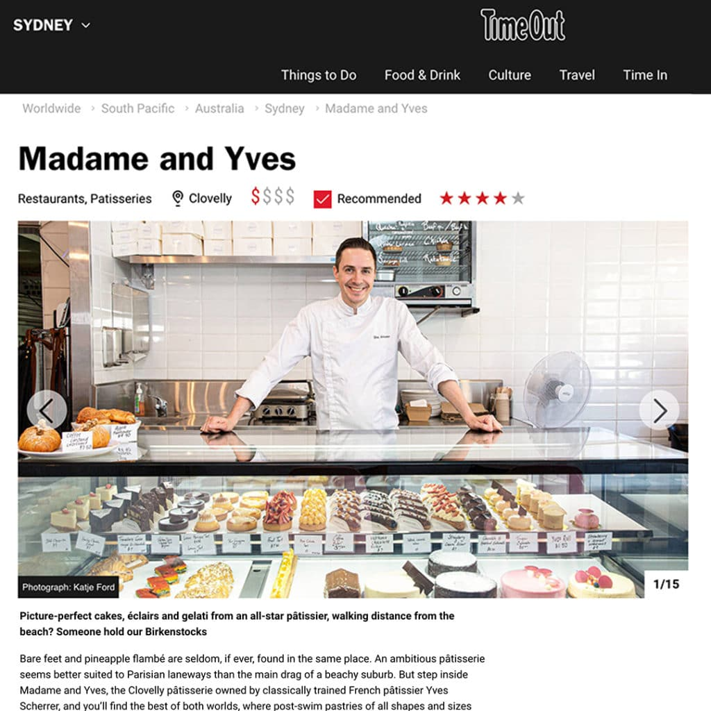 Timeout review of Madame and Yves